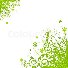 white backgrounds with designs. Modren Designs Green Floral Design Elements Isolated On White Background Vector  Illustration  Stock Colourbox In Backgrounds With Designs