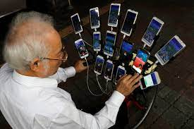 Grandpa catches 'em all, plays Pokemon Go on 15 phones | Otago Daily Times  Online News