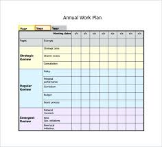 Annual Planning Calendar Template Best Office Templates 2018 ...