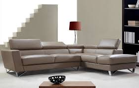 L Shaped Leather Sectional Sofa The Home Redesign Leather