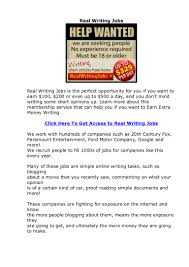 real writing jobs review does real writing jobs actually work
