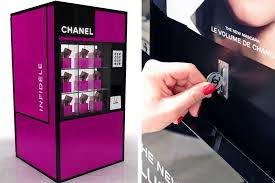 Chanel Vending Machine Awesome 購買妳的慾望Chanel自動販賣機‧ A Day Magazine