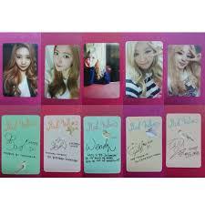 Po Red Velvet Ice Cream Cake Photocard Entertainment K Wave On