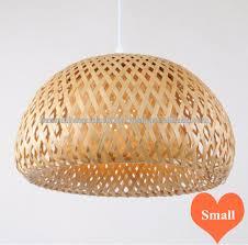 bamboo pendant light. Natural Round Bamboo Lampshade, Indoor Pendant Light Handmade In Vietnam
