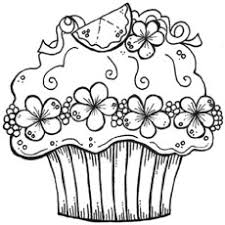 cute cake coloring pages. Simple Coloring Decorativecupcake And Cute Cake Coloring Pages N