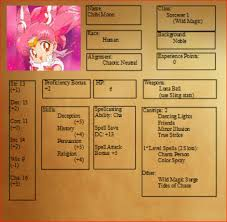 pokemon tabletop character sheet sailor moon dnd character sheets take two geek and sundry