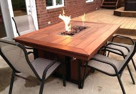 propane fire pit tables round diy lp table costco