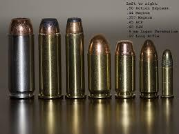 Rifle Bullet Stopping Power Comparison Chart Gun Caliber