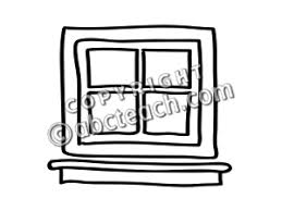 window clipart black and white. Plain Clipart Window Clipart Black And White For Window Clipart Black And White O