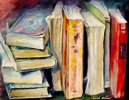a book unopened is a world to discover ilration by leonid afremov