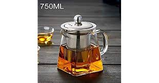 Large Capacity <b>Teapot</b> Tea Set,Easy to clean Stainless Steel Clear ...