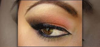 how to apply a fall inspired smokey arabic eye makeup look makeup wonderhowto