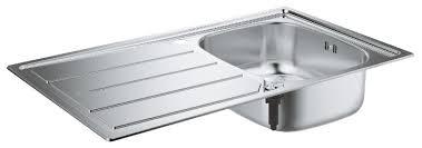Врезная <b>кухонная мойка Grohe K200</b> 31552SD0 86х50см ...