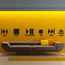 wall decal play and stop studio