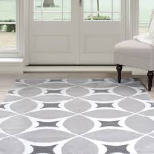 rug superb round area rugs modern in gray and white light grey big blue plain soft