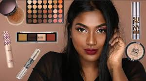 full face of first impressions makeup tutorial dark skin friendly makeup