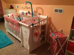 cotton tale nursery using the lizzie baby bedding set and nursery