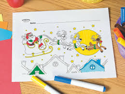 This santa coloring page shows the majestic santa claus in his home, the north pole. Santa Reindeer Free Printable Coloring Page Fun365