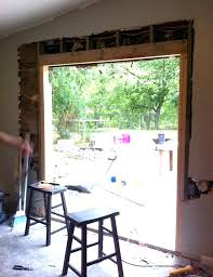 home depot sliding glass door installation