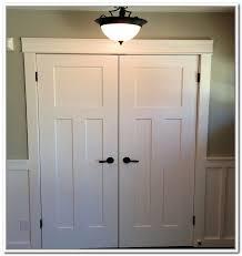 Charming Decoration Double Closet Doors Rough Opening Home Closet