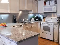 Plain White Kitchen Cabinets Kitchen Clear Plain Stainless Steel Backsplash Design With