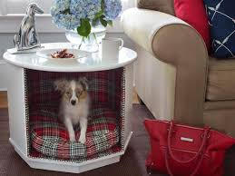 small dog furniture. View In Gallery Small Living Room Table With Stylish And Comfortable Dog Bed Furniture