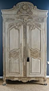 antique furniture armoire. stunning antique armoire shabby chic hand painted wardrobe linen closet furniture o