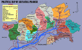 Image result for arunachal pradesh map