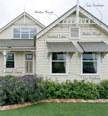 dulux exterior paint colours australia. exterior paint front awning brown to match and visually balance side porch improve curb appeal: handsome home exterior decoration with white cream dulux colours australia i