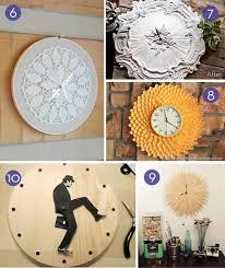 diy wall clock time to diy 10 easy wall clock tutorials diy wall clocks diy