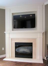 gas fireplace surround kits round designs