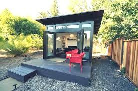 prefab garden office. Outdoor Office Shed Sheds Prefab Storage Backyard Studios Home Modern Kits . Garden