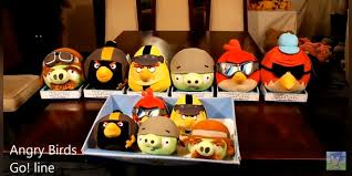 Some more images of canceled angry Birds go plush toys : angrybirds