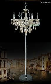 luxury crystal floor lamp for bedroom modern floor lamps for living room guest room floor lamp