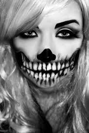 makeup zombie ideas of makeup tips black white