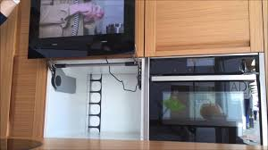 Tv In Kitchen Cabinet Door Kitchen Tv Avis Electronics Avs220k 215 Inch