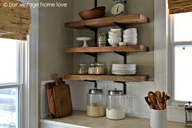 For Shelves In Kitchen Rustic Kitchen Shelving Ideas Miserv