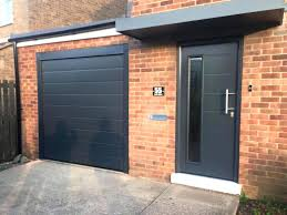 Fascinating Double Garage Doors With Windows Designs Full View ...