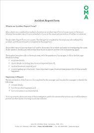 Construction Job Site Incident Report Form Templates At