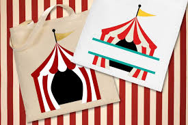 Completely free svg files for cricut, silhouette, sizzix and many other svg compatible electronic cutting machines. Circus Tent And Split Svg File Cutting Template 236771 Cut Files Design Bundles