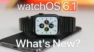 watchOS 6.1 is Out! - What's New? - YouTube