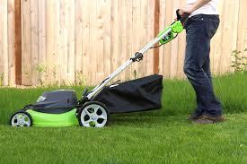 lawn maintenance orlando. Brilliant Orlando Man Cutting The Grass With Lawn Mower And Lawn Maintenance Orlando