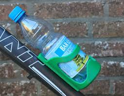picture of 3d printed water bottle holder for your bike