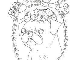Small Picture Pug French Bulldog Adult Coloring Book Coloring Book for