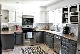 two tone kitchen walls large size of toned kitchen cabinets pictures within trendy kitchen two tone