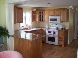 image of home kitchen colors with oak cabinets