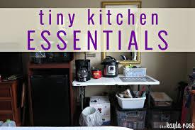 Tiny Kitchen Tiny Kitchen Essentials Hotel Living