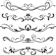 Scroll Design Images A Various Scroll Designs Stencil Designs Scroll Design