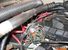 renix starter problems jeepforum com if it won t crank then check the wire to the solenoid if you don t get 12v you ll need to move upstream to the break