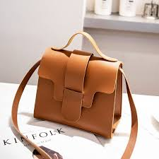 casual small leather cross bags for women